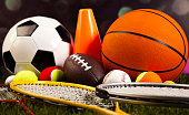 Game, Sports Equipment
