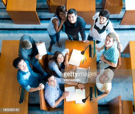 Group of student  friends : Stock Photo