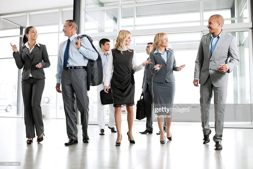 Group of successful businesspeople. : Stock Photo