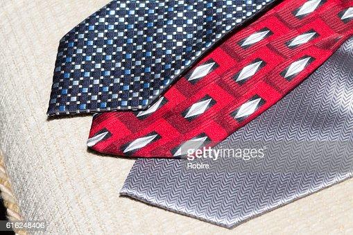 Group of Ties. : Stock Photo