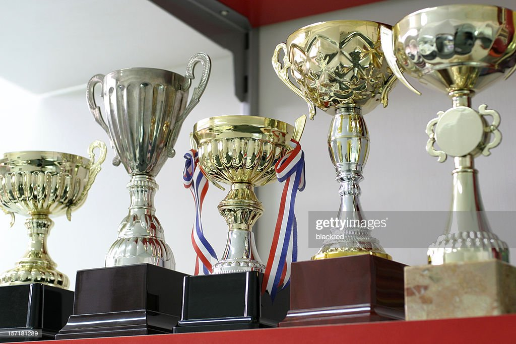 Group of Trophies