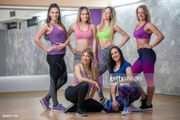 Group of women from the gym