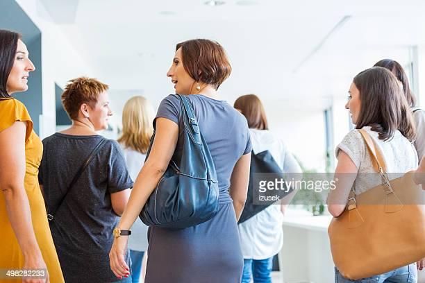 Group of women walking