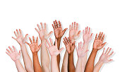 Group of World People's Hands