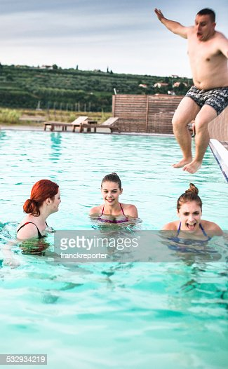 Friends Waterpark Stock Photos And Pictures Getty Images