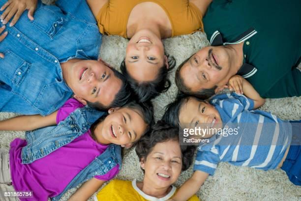 Group Photo Lying Down