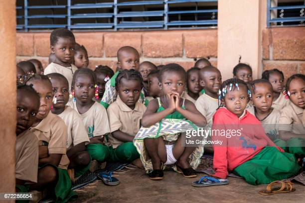 Group photo of children in preschool age at a school of the Dreyer Foundation Here children are cared for and will be promoted The school is open to...