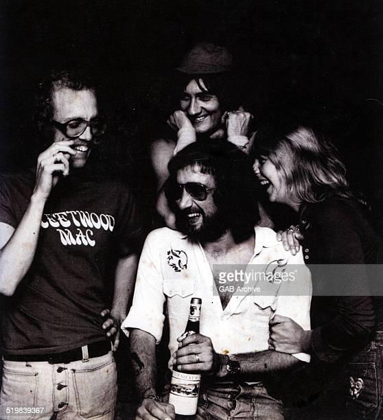 Group portrait of Fleetwood Mac circa 1974 Clockwise from left Bob Welch Mick Fleetwood Christine McVie John McVie