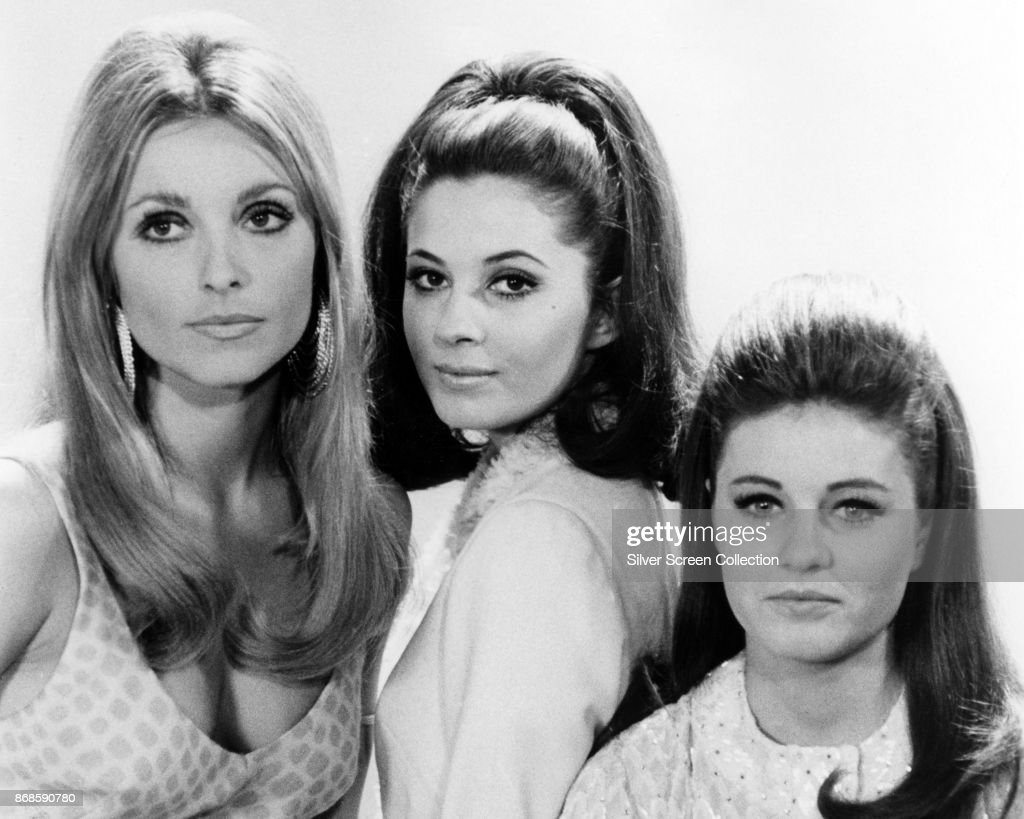 Group portrait of, from left, actresses Sharon Tate (1943 - 1969), Barbara Parkins, and Patty Duke (1946 - 2016) for the film 'Valley of the Dolls' (directed by Mark Robson), 1967.
