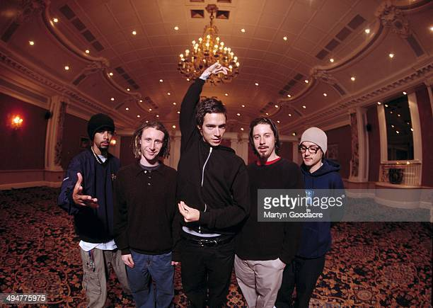 Group portrait of US rock band Incubus London United Kingdom 2000