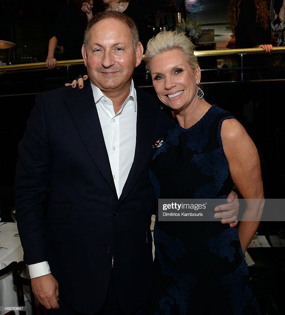 Group President, The Estée Lauder Companies Inc. <a gi-track='captionPersonalityLinkClicked' href=/galleries/search?phrase=John+Demsey&family=editorial&specificpeople=215290 ng-click='$event.stopPropagation()'>John Demsey</a> and President of MAC Cosmetics Karen Buglisi attends MAC Cosmetic's <a gi-track='captionPersonalityLinkClicked' href=/galleries/search?phrase=John+Demsey&family=editorial&specificpeople=215290 ng-click='$event.stopPropagation()'>John Demsey</a> and Zac Posen's dinner to celebrate his Pre- Fall Collection at Mr Chow on December 11, 2013 in New York City.