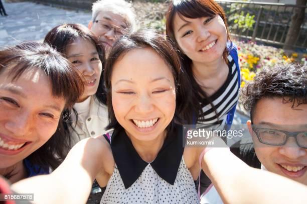 グループ写真を
