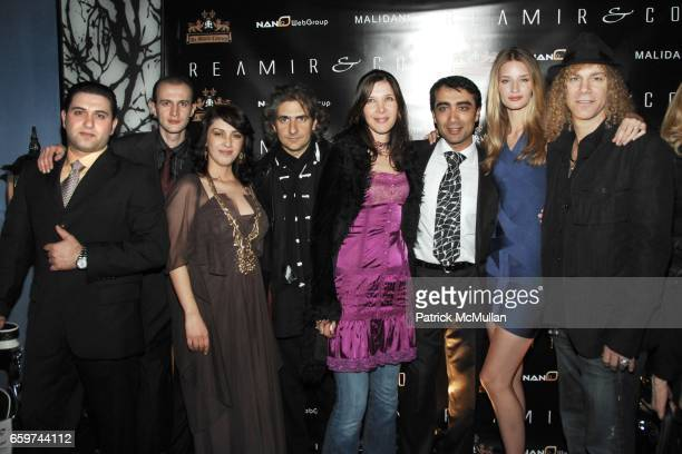 Group Shot attends REAMIR CO Launch Party for their new 'SIGNITURE PRODUCTS' Performance by MICHAEL IMPERIOLI LA DOLCE VITA at Touch on March 31 2009...