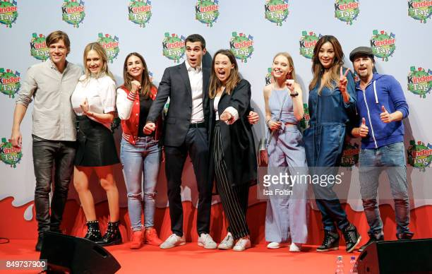 Group shot with Clemens Fritz Alena Gerber Sila Sahin Goffredo Cerza Aurora Ramazzotti Lina Larissa Strahl Verona Pooth Tommy Scheel during the...