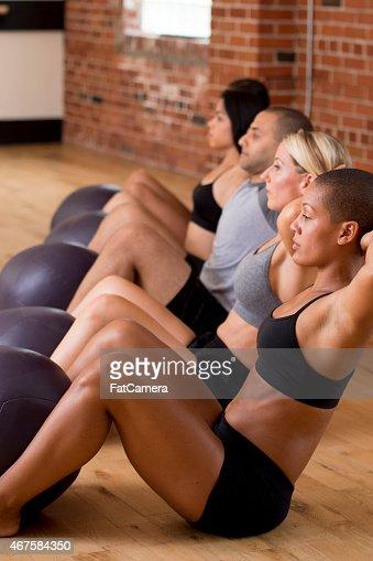 Group Sit Ups