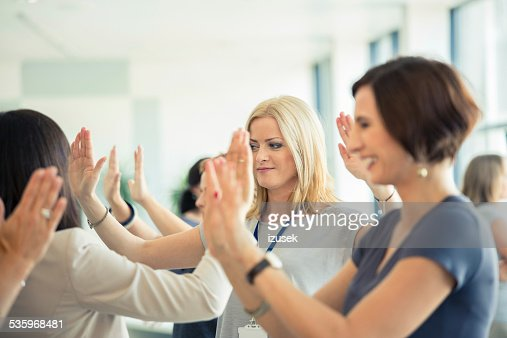 Group therapy for women : Stock Photo