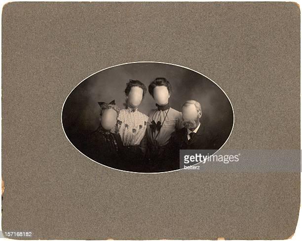 group vintage portrait