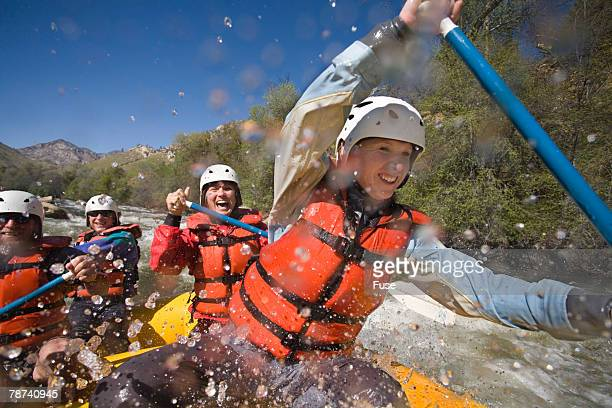 Group Whitewater Rafting on Kern River