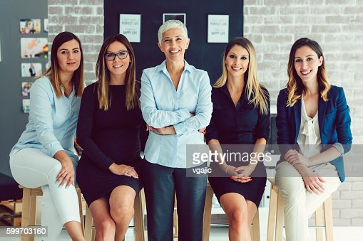 Group Women Only Corporate Portrait.