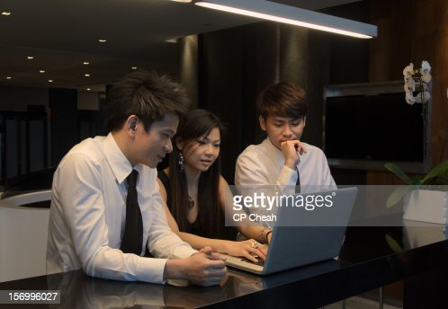 Group Work : Foto stock