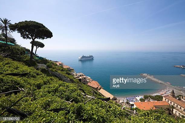 Wachsende Zitronen in Amalfi (Italien