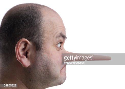 Growing nose