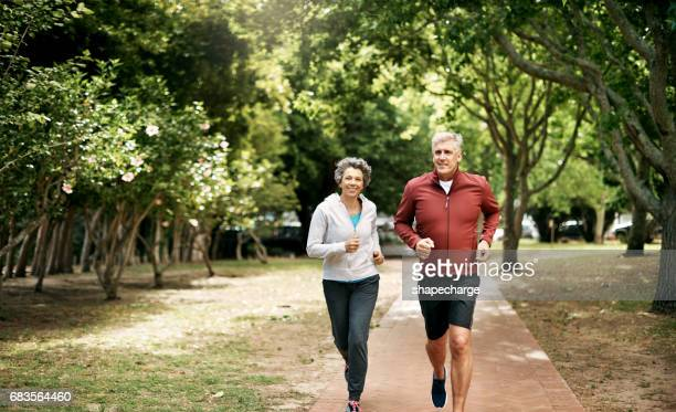 Growing old and getting healthy together