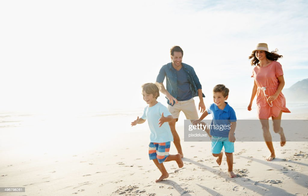 Growing up fit and strong : Stock Photo