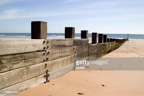 Groynes アバディーンビーチで