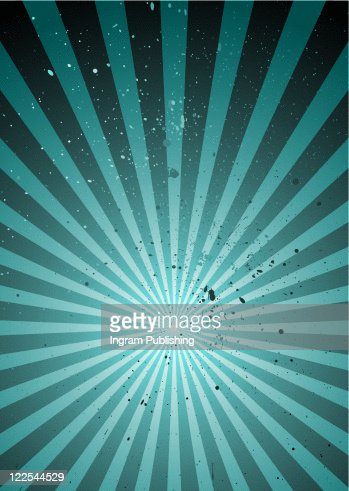 grunge abstract background with ink splats and radiating design : Stock-Foto