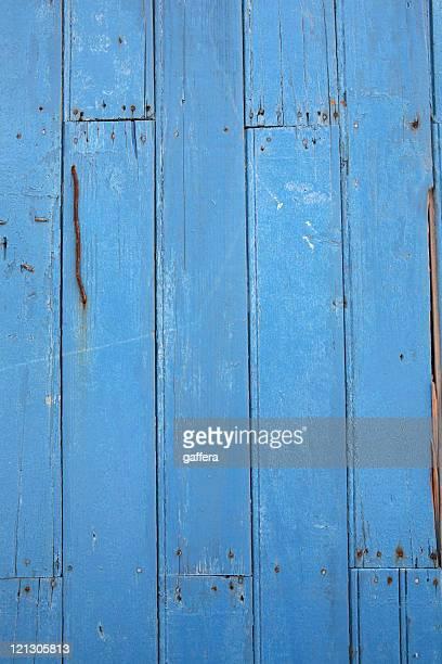 grunge blue wood