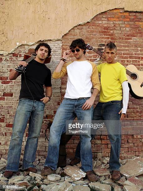 grunge Retrato de banda de la ciudad