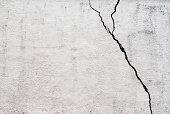 grunge cracked stuco wall background
