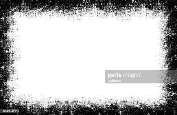 Grunge Frame background textured isolated