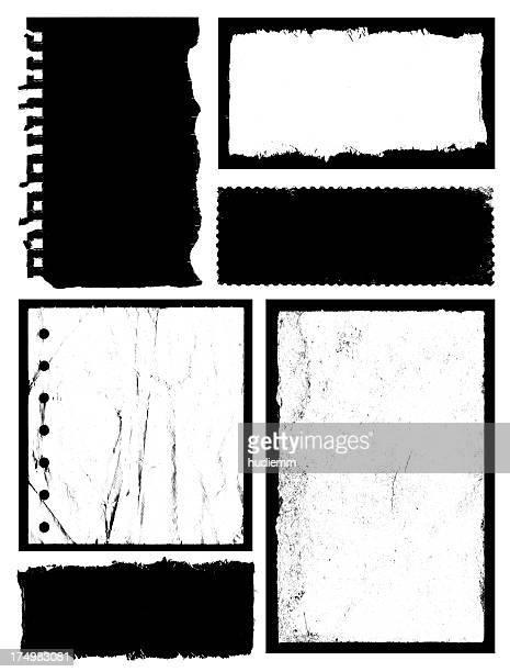 Grunge Frame & Textured background