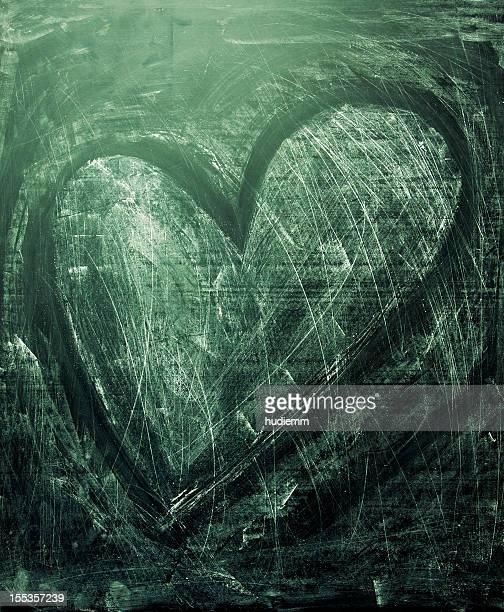 Grunge texture con cuore