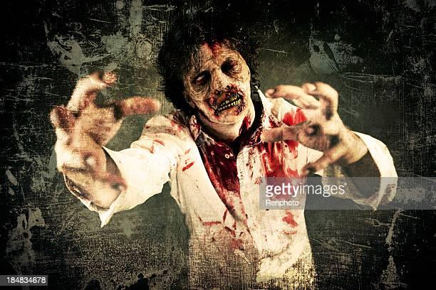 Grunge männliche Zombie