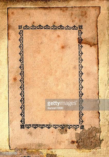Grunge-Papier-frame