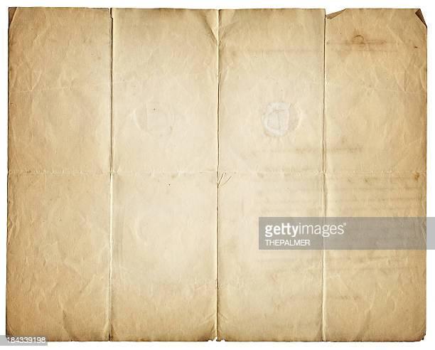 grunge piece of paper
