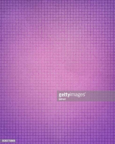 grunge purple graph paper