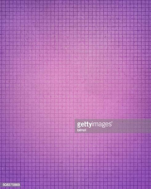 Violet grunge Papier millimétré