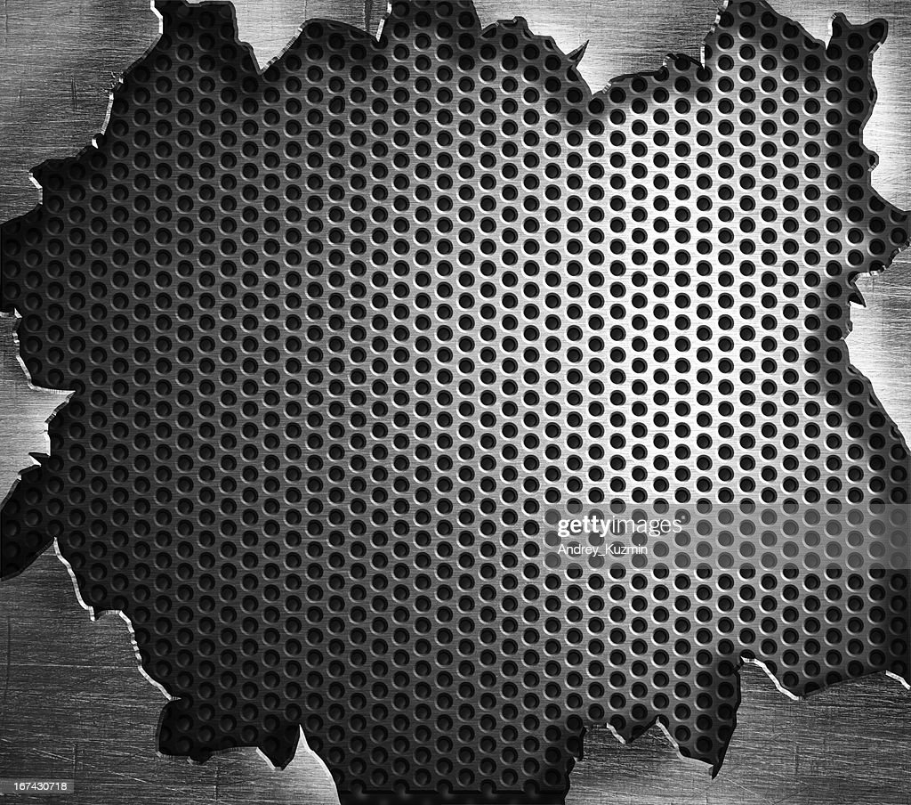 Acero metal fondo grunge : Foto de stock