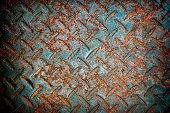 grunge texture rusty metal plate orange oxidized steel iron high resolution graphics background.