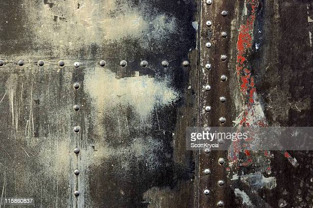 Grunge Texture with  Rivets #4