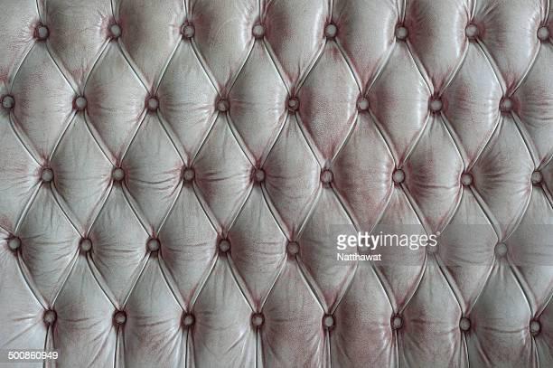 Grunge white upholstery background