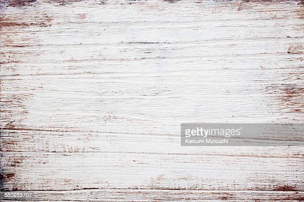 Grunge wooden white board texture background