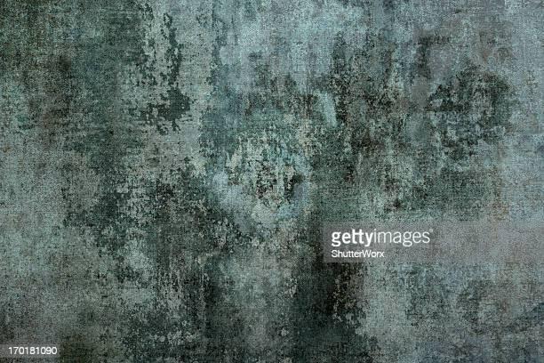 Grungy ruinoso pared de cemento