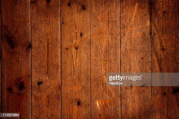 Grungy floorboards