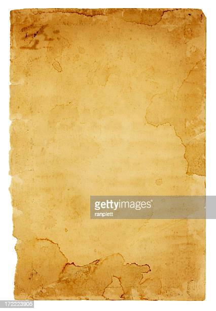 Grungy Old Paper with Frayed Edges (includes Clipping Path)