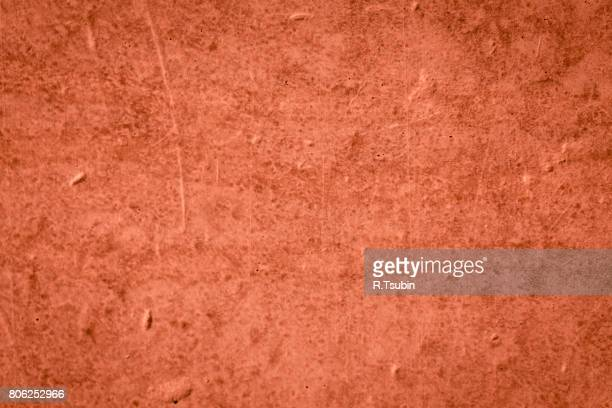 Grungy red concrete wall texture background